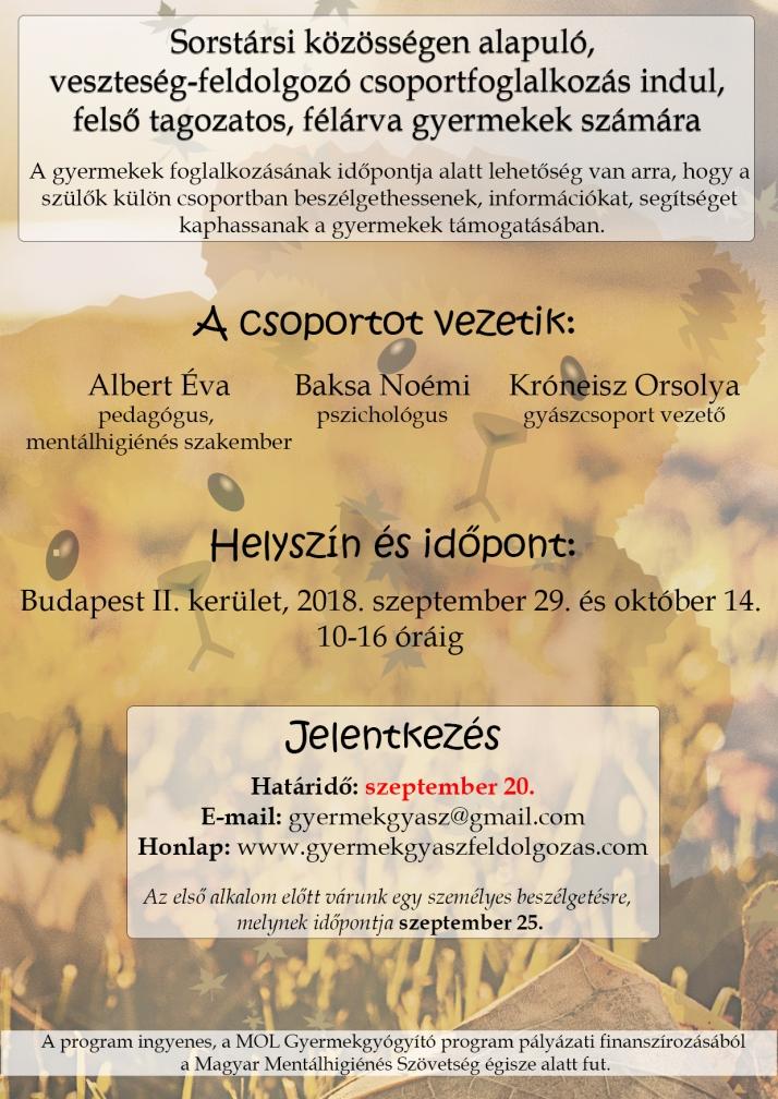 2018 őszi plakát